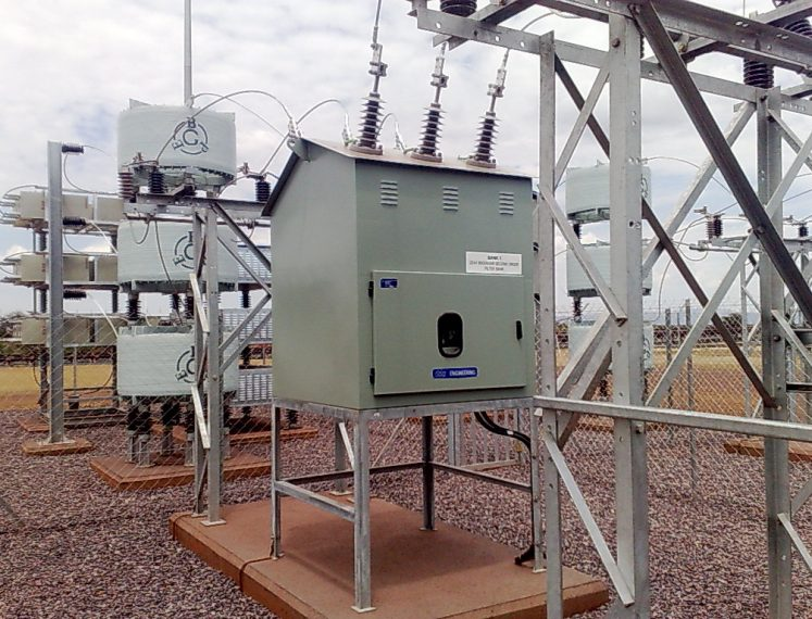 "Outdoor 11-33kV Kiosk ""Dogbox"" Circuit breakers"