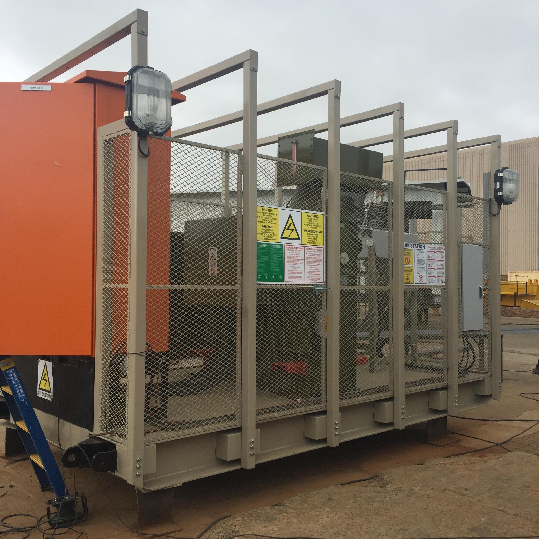 400V – 33kV Skid mounted portable substation - RWW Engineering